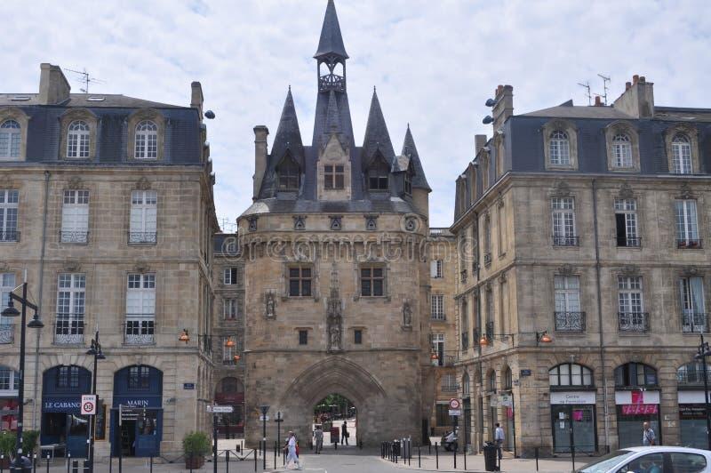 Porte Caihau im Bordeaux, Frankreich lizenzfreie stockfotografie