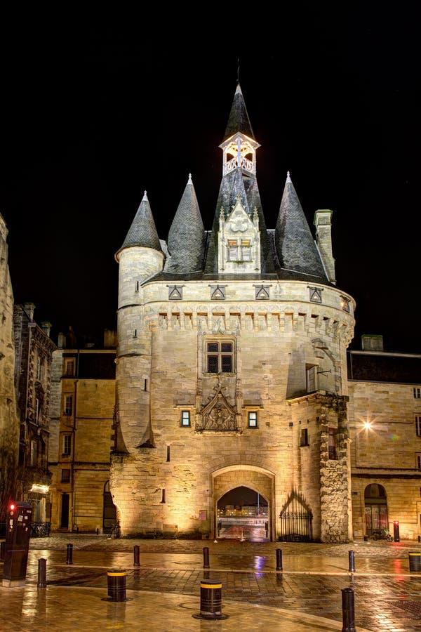 Porte Cailhau, Bordeaux immagini stock libere da diritti