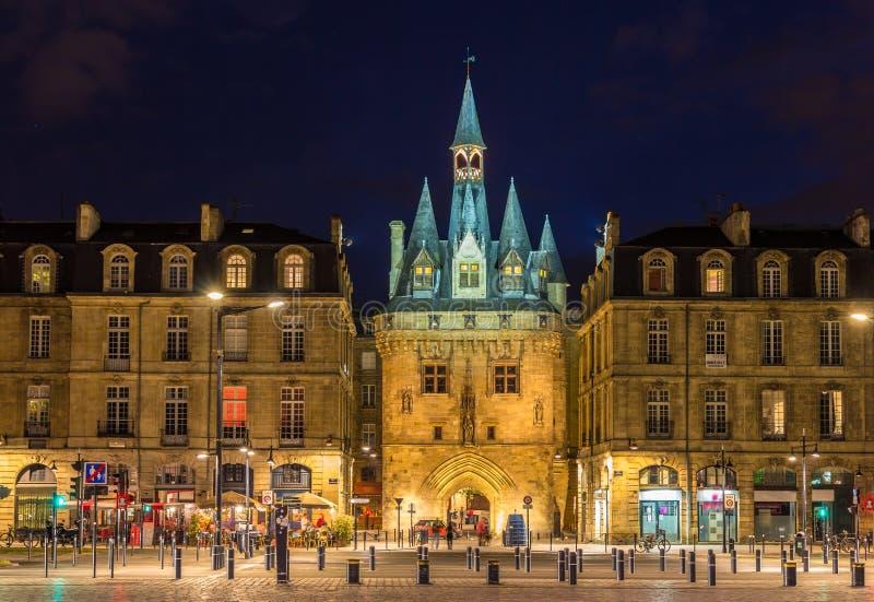 Porte Cailhau in Bordeaux immagine stock libera da diritti