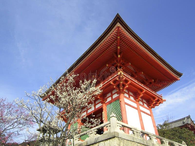 Porte chez Kiyomizu-dera images libres de droits