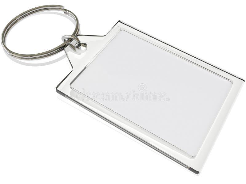 Porte-clés illustration de vecteur