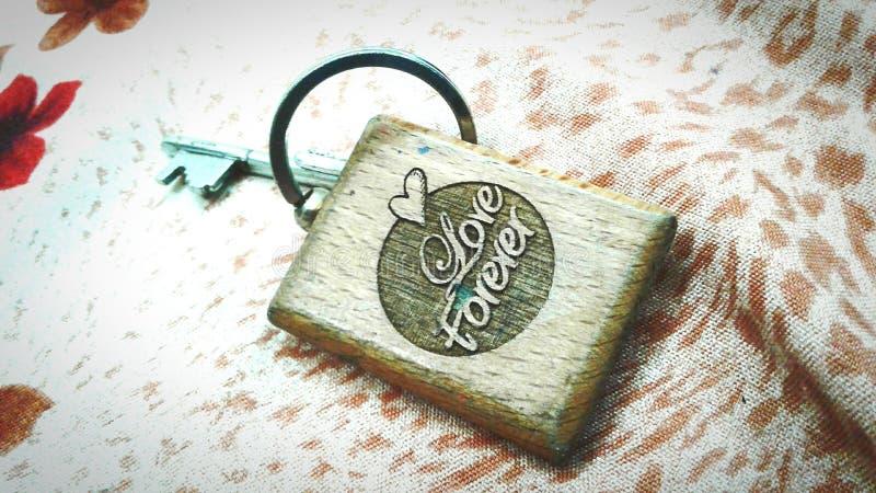 Porte-clés d'amour photos libres de droits