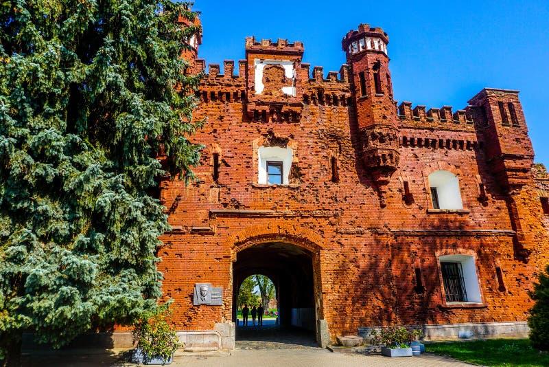 Porte complexe de héros de forteresse de Brest photos stock