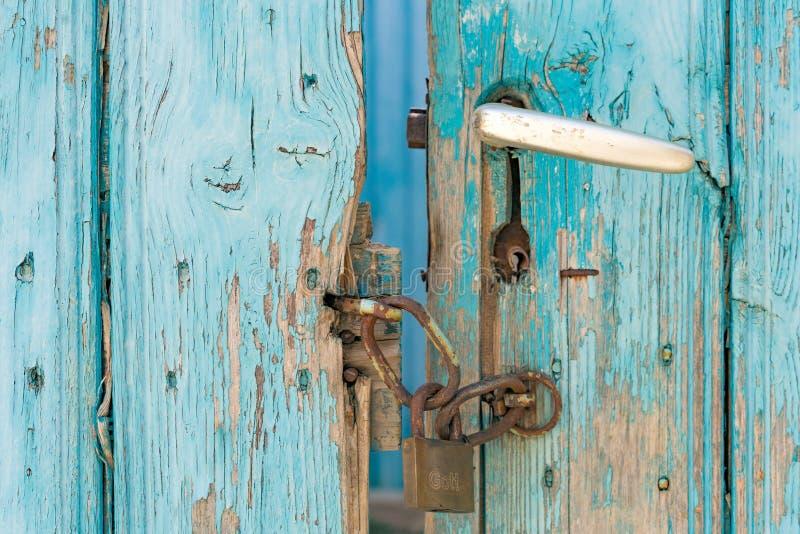 Porte crétoise images stock