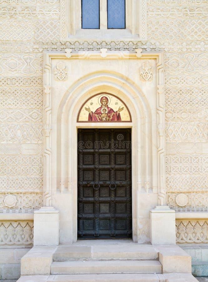 Porte d'église image libre de droits
