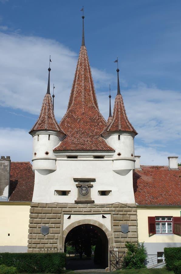 Porte d'Ecaterin - Brasov Roumanie photos stock