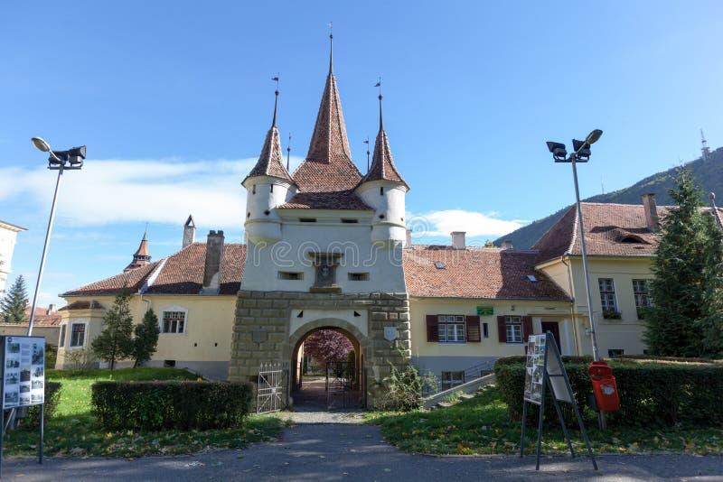 Porte d'Ecaterina en brasov, Roumanie photographie stock libre de droits
