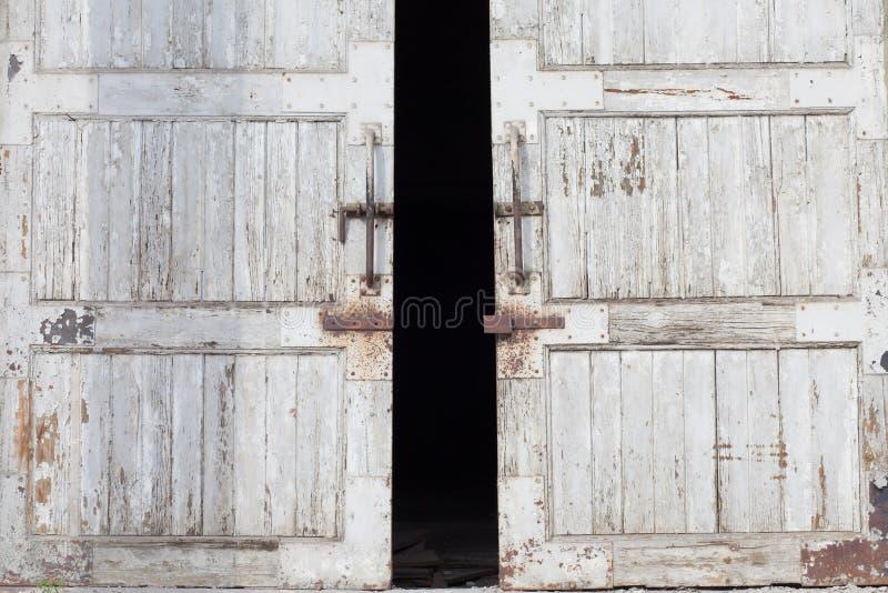 Porte d'entrepôt images libres de droits