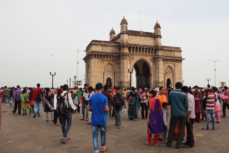Porte d'Inde à Bombay image stock
