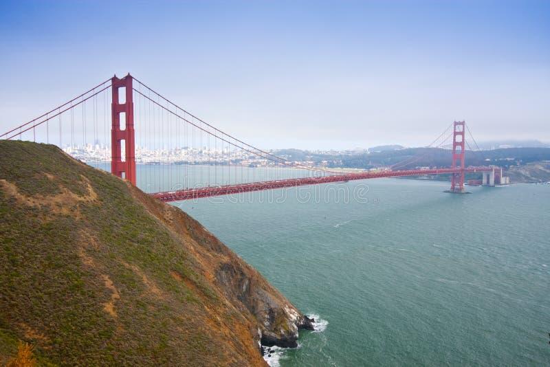 Porte d'or, San Fracisco, Etats-Unis photos libres de droits