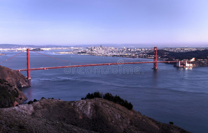 Porte d'or San Francisco photo stock