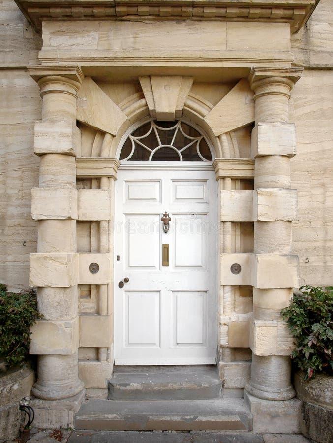 Porte d'une Chambre de ville de Londres photographie stock
