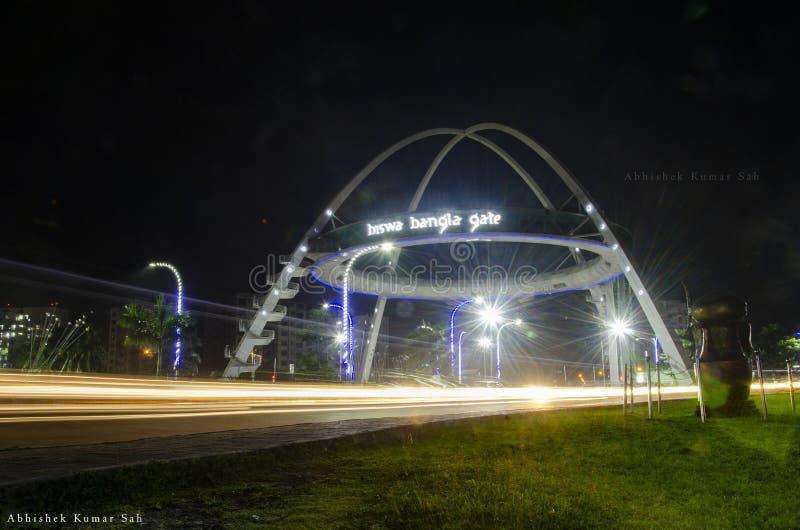 Porte de bangla de Biswa images stock