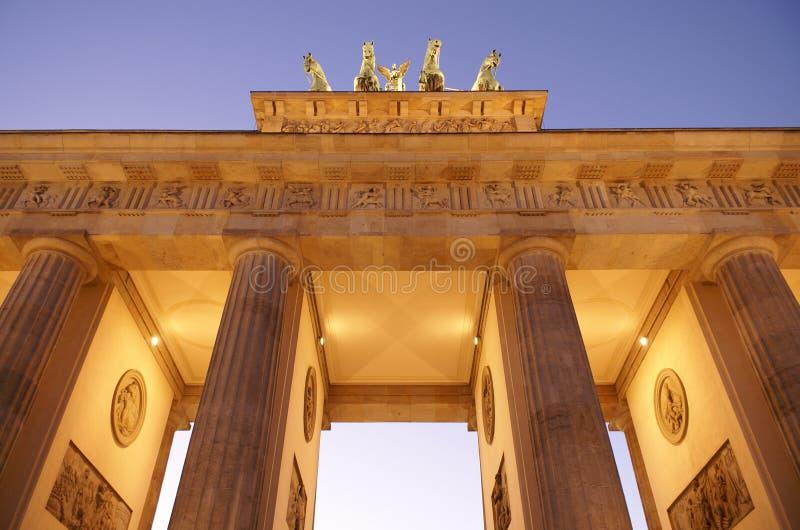 Porte de Brandebourg images libres de droits