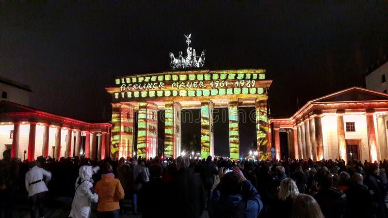 Porte de Brandebourg photographie stock libre de droits