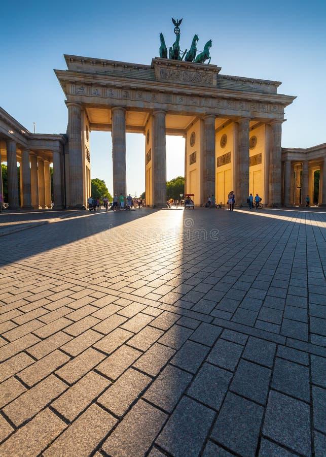 Porte de Brandebourg, Berlin photo stock