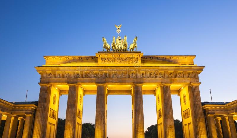 Porte de Brandebourg, Berlin, Allemagne photos stock