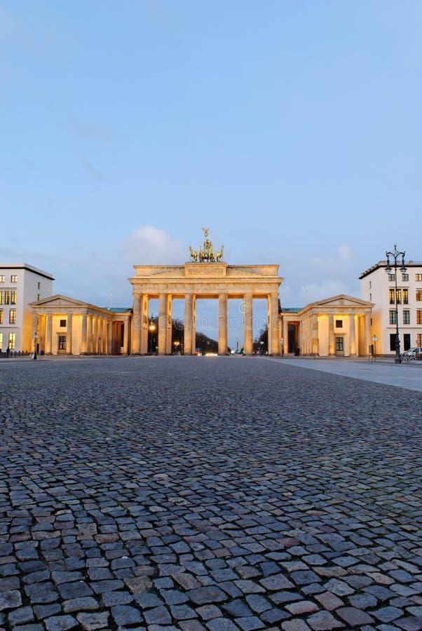 Porte de Brandebourg de Berlin photographie stock libre de droits