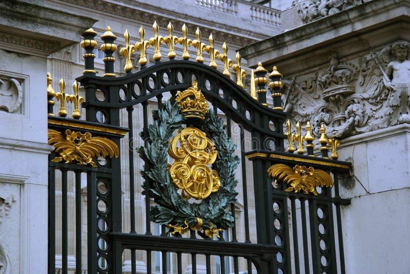 Porte de Buckingham Palace photographie stock