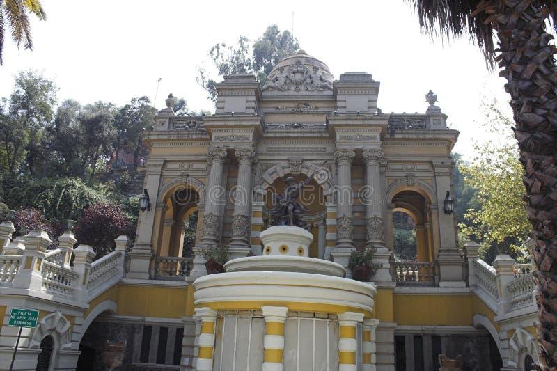 Porte de Cerro de Santa Lucia images stock