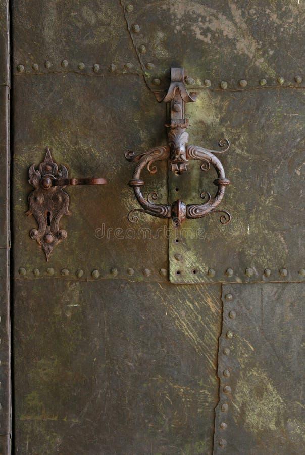 Porte de château photos libres de droits