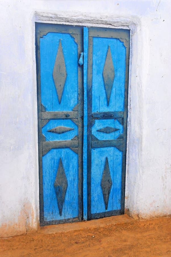 Porte de Chambre de Nubian photos stock