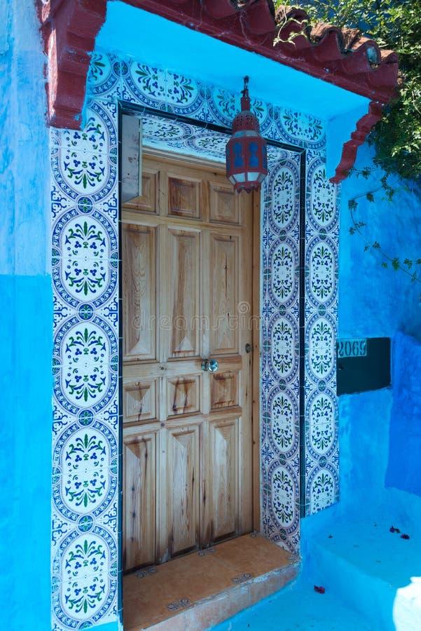 Porte de Chefchaouen images stock