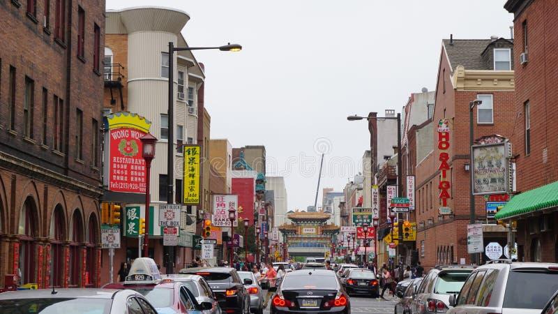 Porte de Chinatown à Philadelphie photo libre de droits