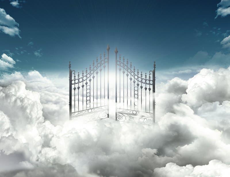 Porte de ciel photographie stock libre de droits