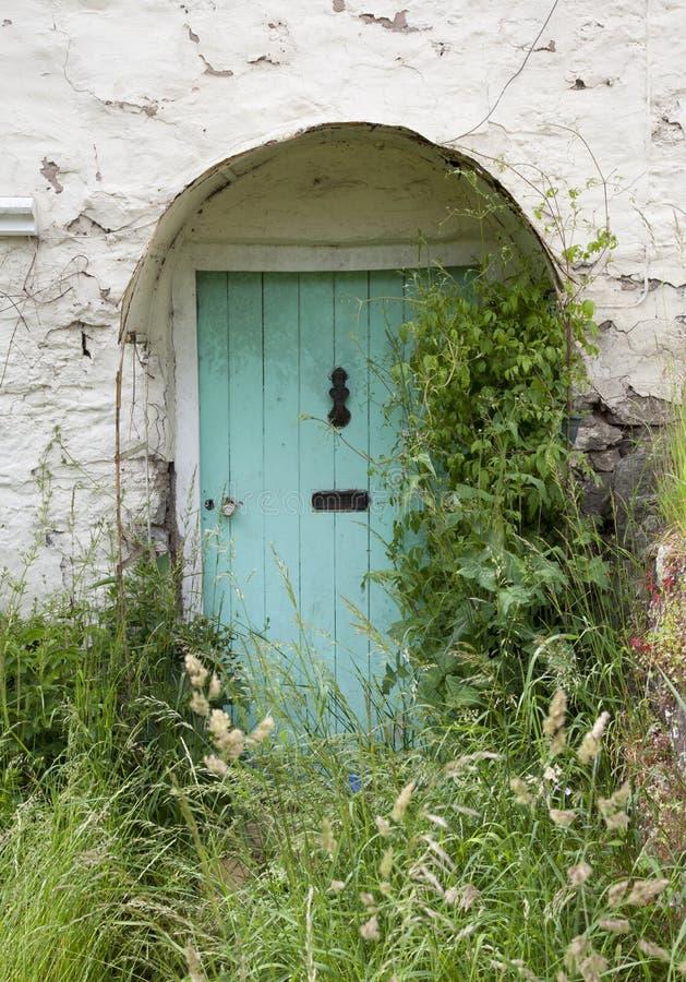 Porte de cottage, Angleterre photos stock