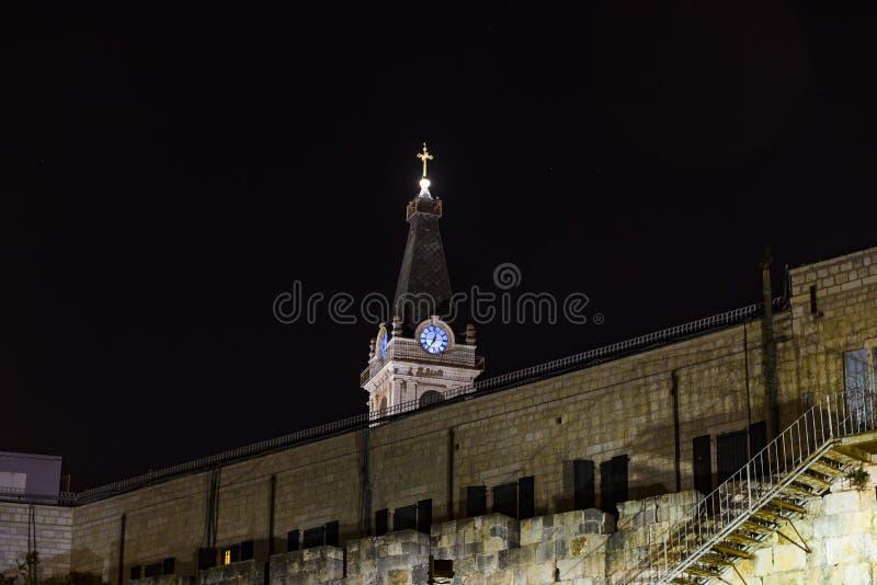 Porte de Damas de vieille ville Jérusalem photographie stock