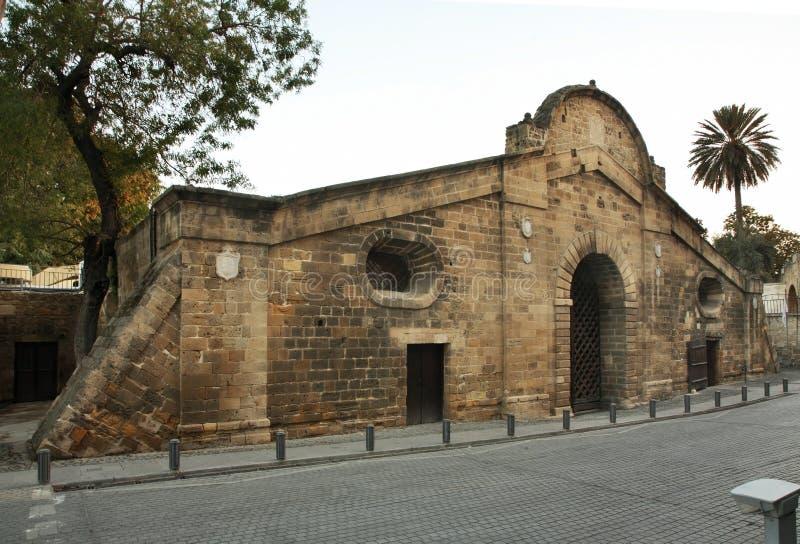 Porte de Famagusta à Nicosie cyprus image libre de droits
