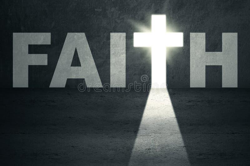 Porte de foi images libres de droits