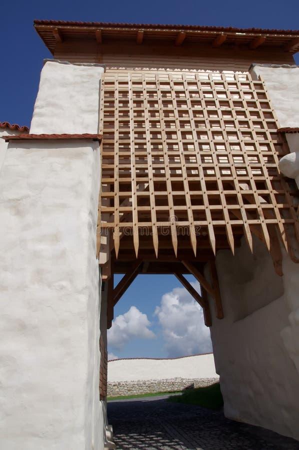Porte de forteresse image libre de droits