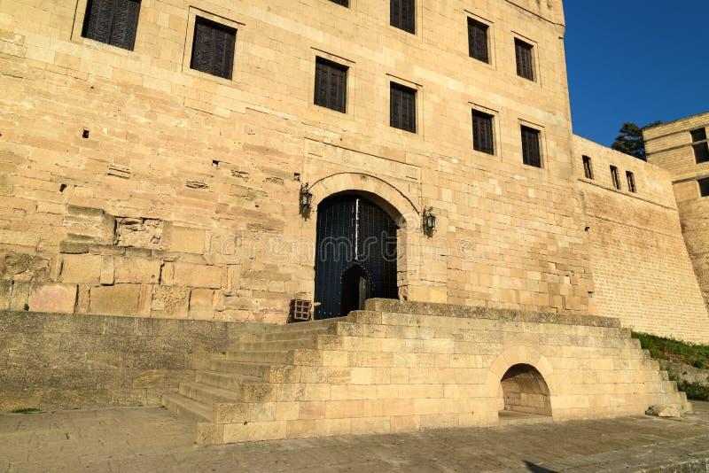 Porte de forteresse de Naryn-Kala Chancellerie du ` s de Khan dans Derbent photo stock