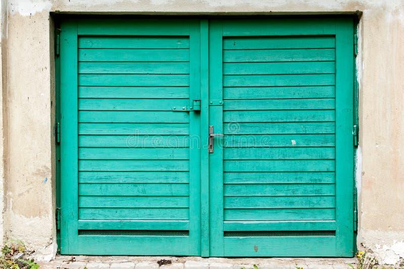 Porte de garage photographie stock