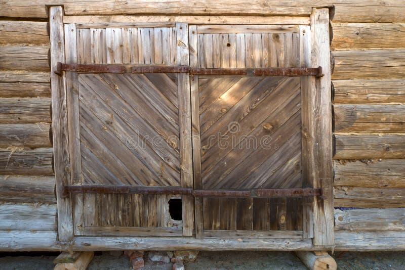 Porte de grange photo stock