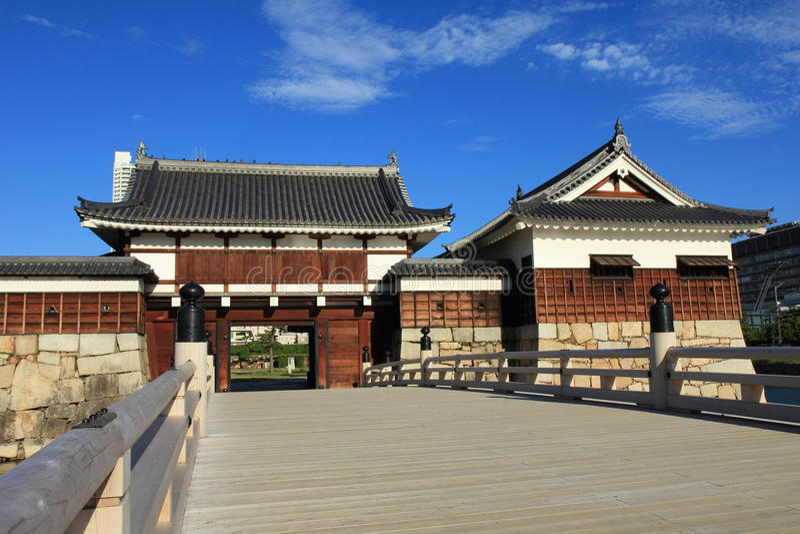 Porte de Hiroshiam Jo image libre de droits