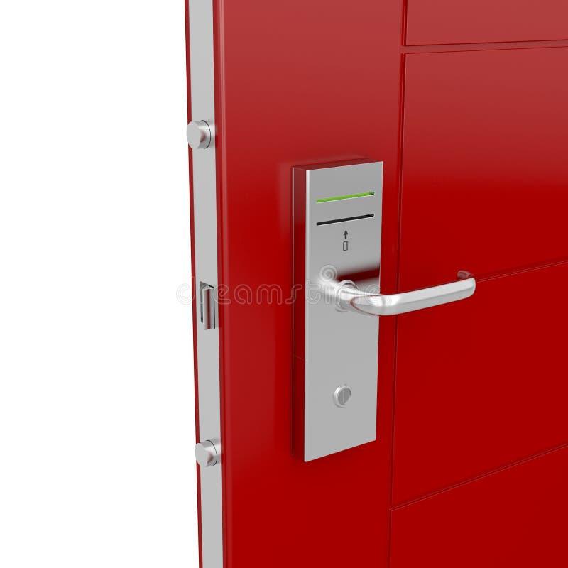 Porte de Keycard illustration de vecteur