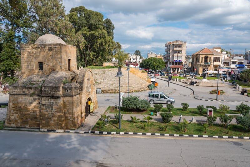 Porte de Kyrenia, Nicosie, Chypre photos libres de droits