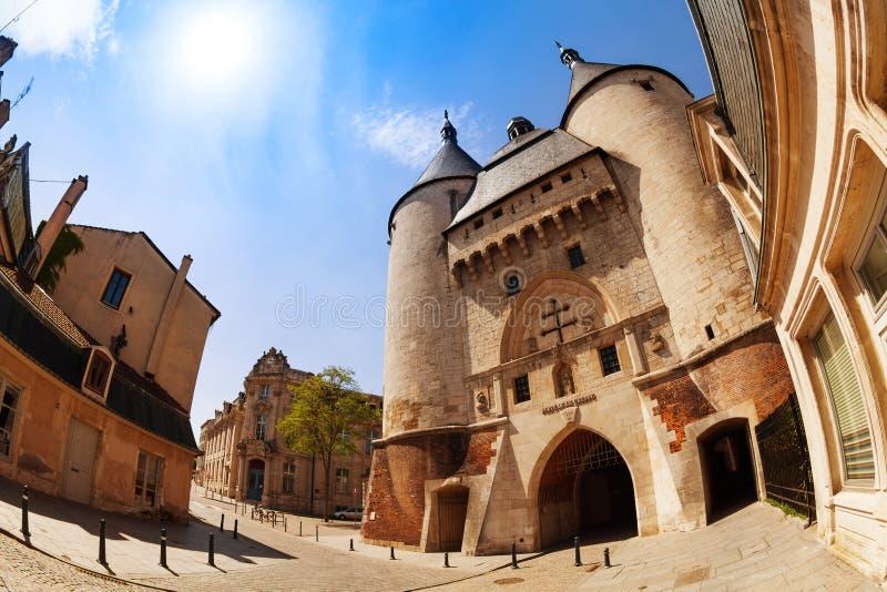 Porte DE La Craffe poorten in Nancy, Frankrijk royalty-vrije stock afbeelding