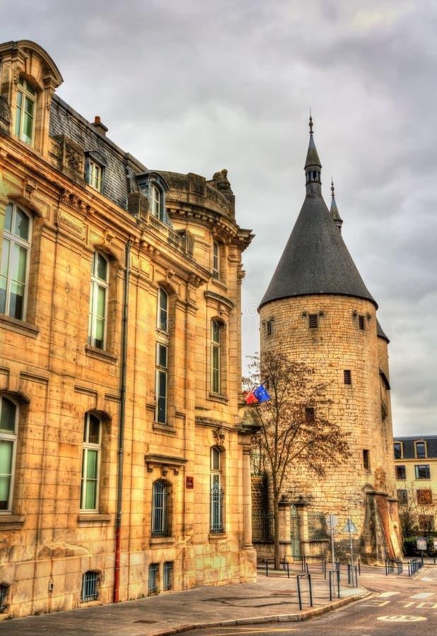 Porte de la Craffe, un portone medievale Nancy - in Francia immagini stock