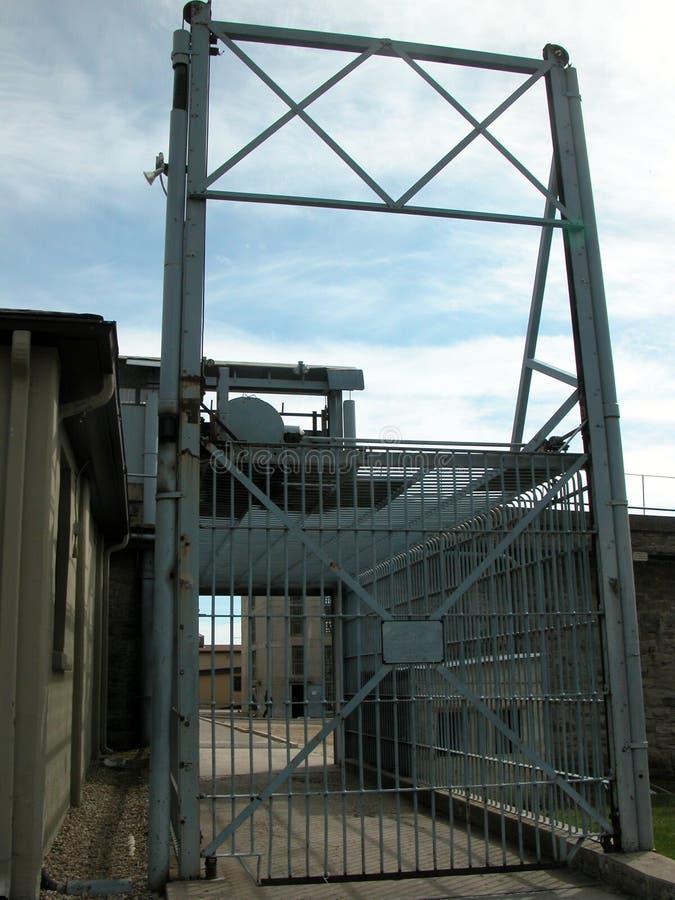 Porte de libération de prison image libre de droits
