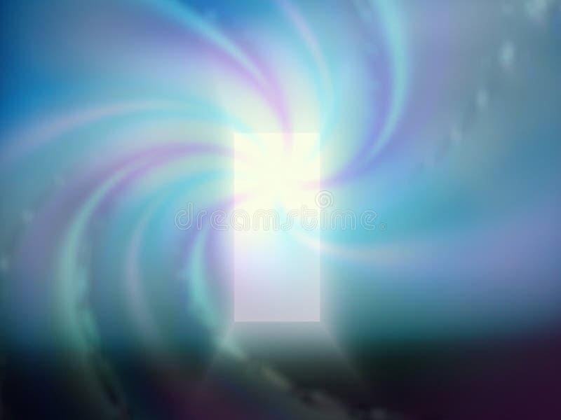 Porte de lumière illustration stock