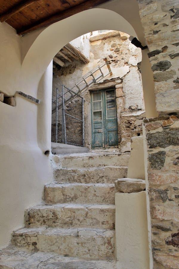 Porte de Mykonos image libre de droits