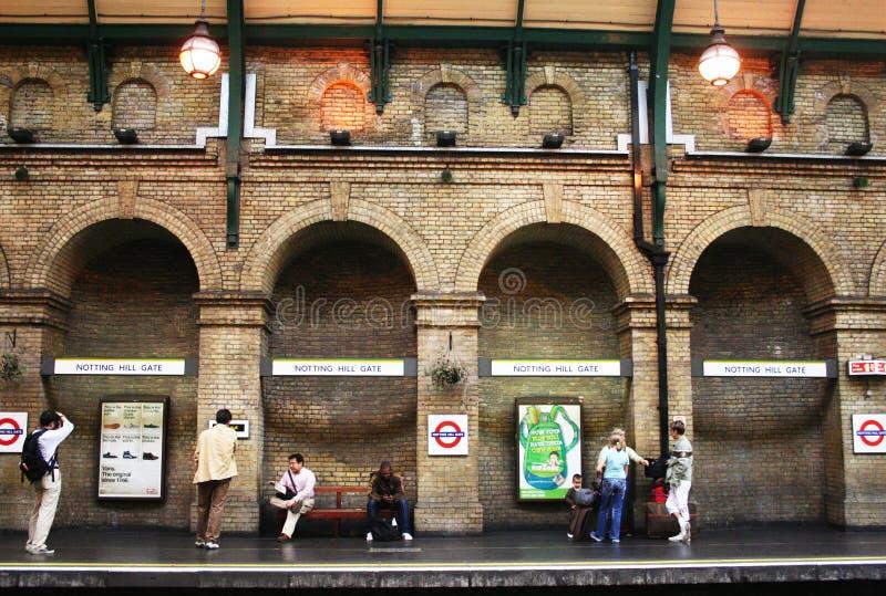 Porte de Notting Hill images stock