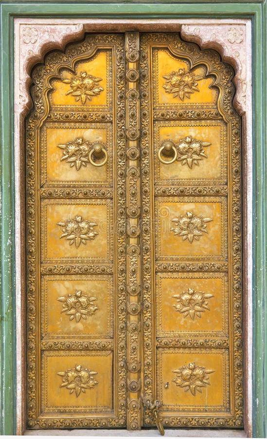 Porte de palais image libre de droits
