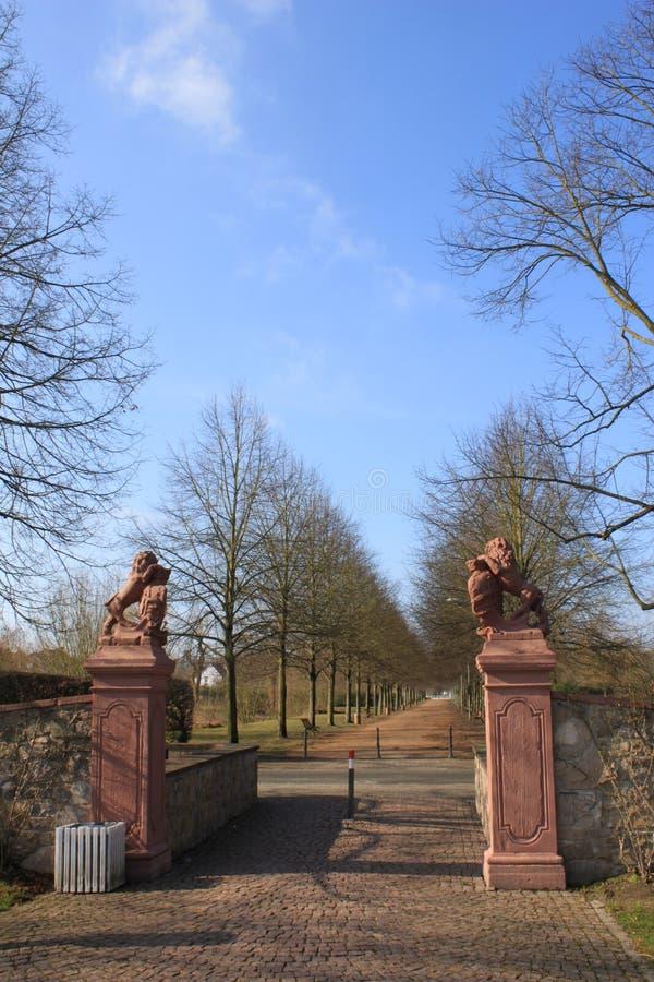 Porte de palais images stock