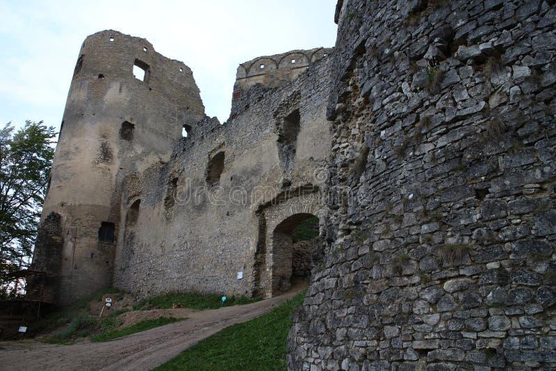 Porte de Peréni dans le château de Lietava, secteur de Žilina photo libre de droits