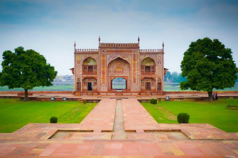 Porte de rivière de Taj de bébé images libres de droits
